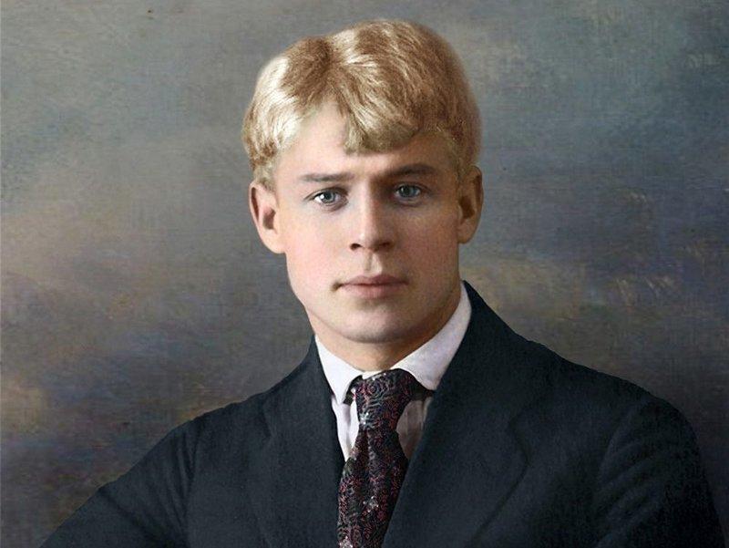 Сергей Есенин. колоризация, личности, портреты