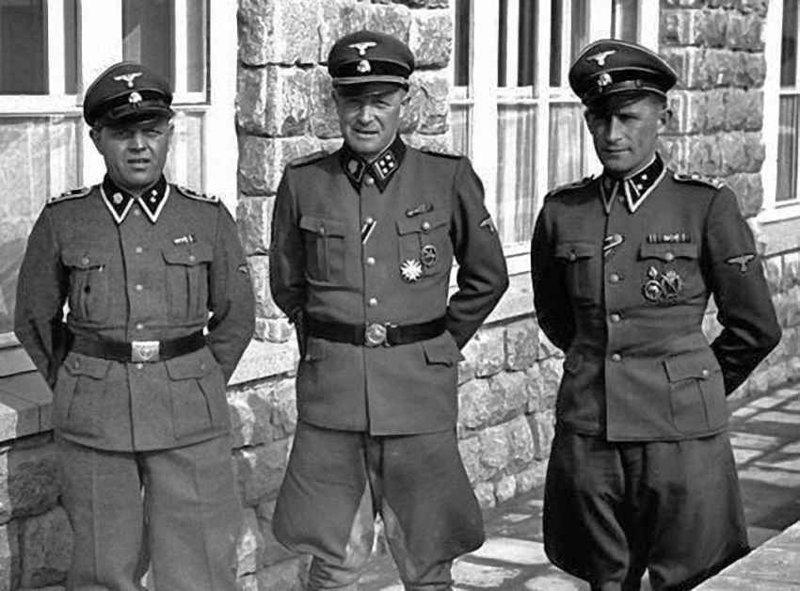 Мюльфиртельская охота на зайцев лагеря смерти, плен, преступления СС