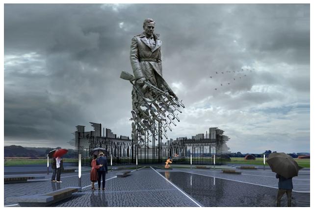 Грандиозный мемориал Советскому солдату появится в Тверской области день победы, памятник, советский солдат