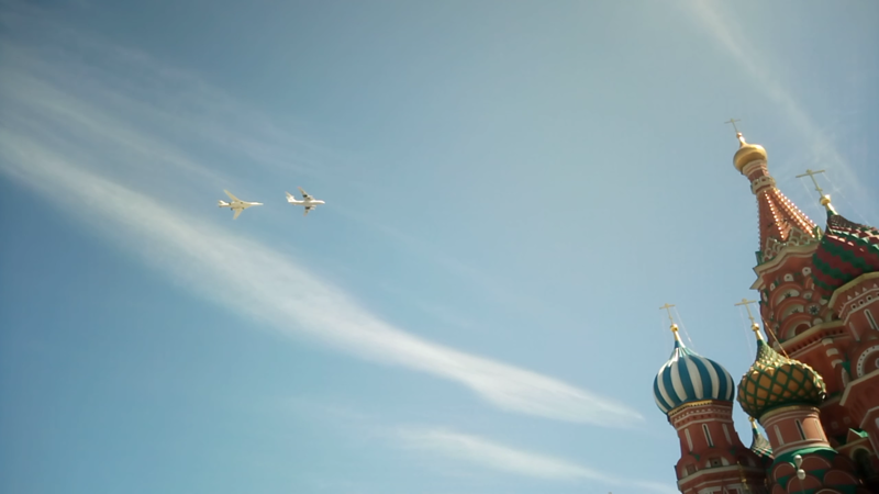 Ил-76 заправляет Ту-160 авиация, парад победы, танки, техника