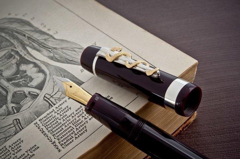 «Доктор» чернильных ручек профессия, специальность, странное