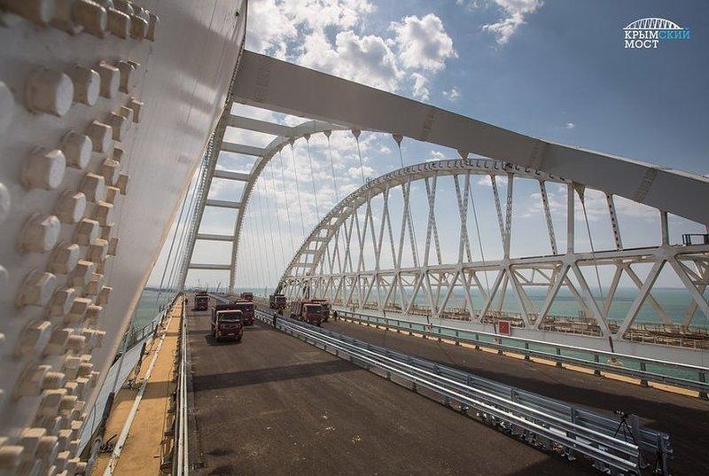 Автодорожная часть Крымского моста принята и готова к эксплуатации Автодорожная часть, Крымский мост, Упрдор «Тамань