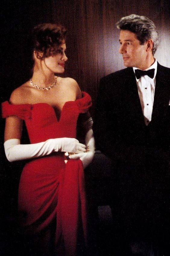 10. Цвет платья Ричард Гир, джулия робертс, красотка, познавательно, факты, фильм