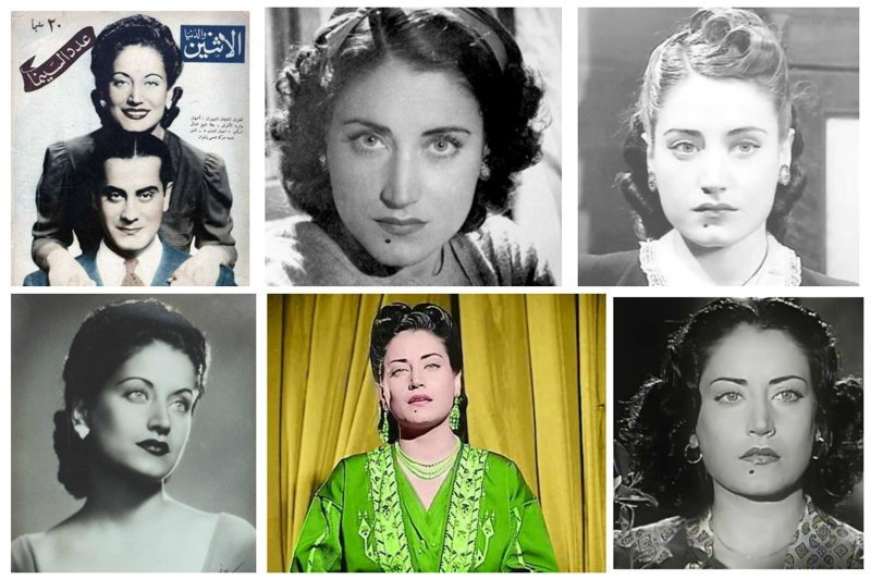 """Эмира (принцесса) Амаль эль-Атраш, более известная под именем Асмахан, наследница самого знатного друзского рода, неотразимая красавица, тайный агент, работавший на британцев, """"Свободную Францию"""" и нацистов, египетская кинозвезда и знаменитая певица звезда, знаменитость, история, красота, сирийская принцесса, тайны, талант"""