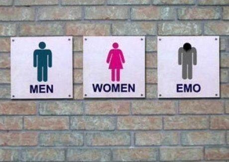 Стройте всегда запасной туалет. Ну мало ли зачем... ) 2007, 2007 год, молодёжные субкультуры, прикол, субкультуры, эмо, юмор