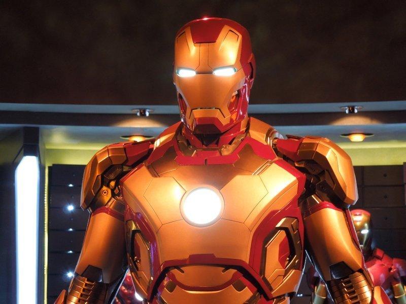 Кто-то украл в Голливуде костюм Железного человека
