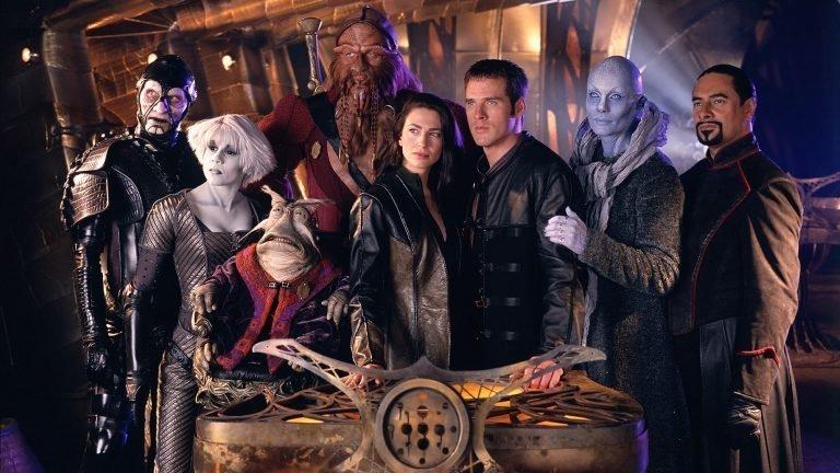 На краю вселенной лучшее, сериалы, фантастика