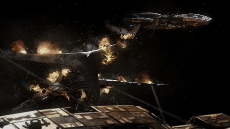 Звёздный крейсер «Галактика» лучшее, сериалы, фантастика