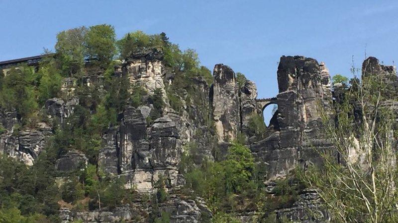 Прогулка в облаках   Ратен, Саксонская Швейцария, скалы, туризм