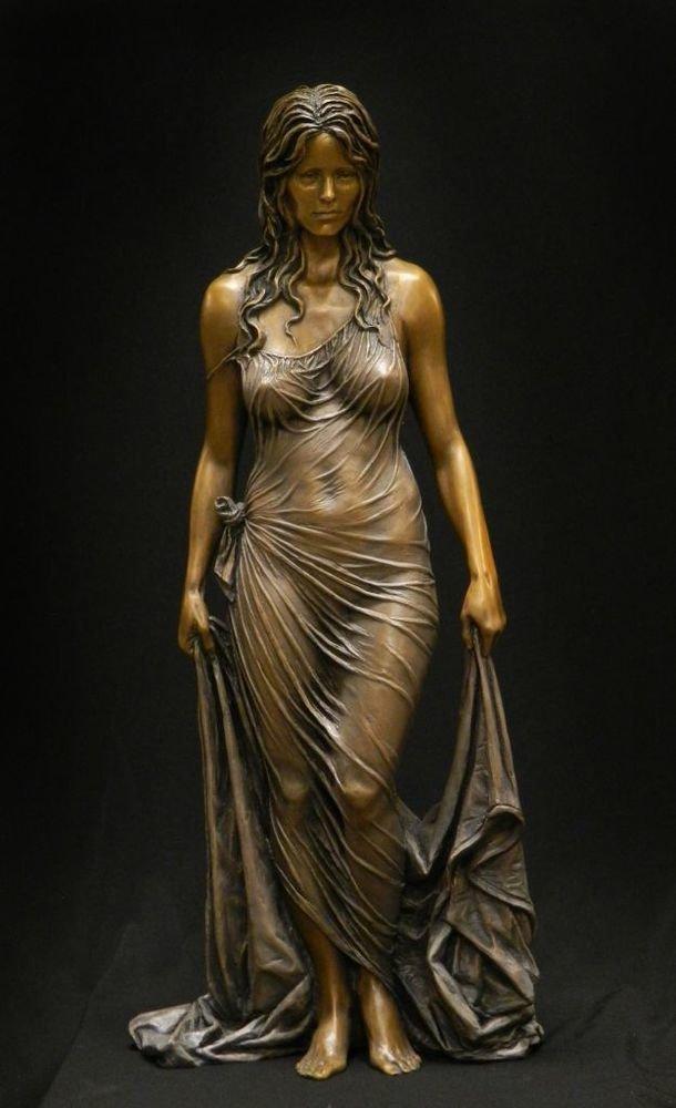 Бенджамин Виктор - один из самых известных современных скульпторов интересное, искусство, красота, лица, скульптура, талант