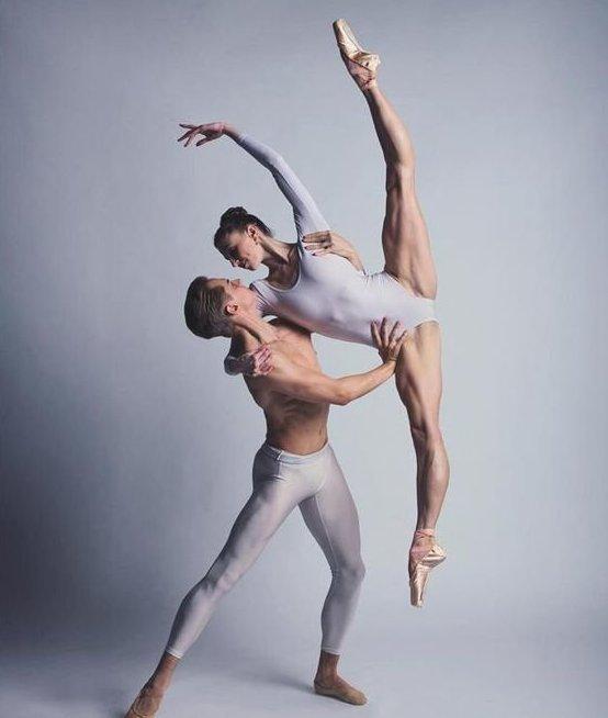 Elle Macy and Dylan Wald анатомия, балет, искусство, красота, мускулы, невероятное, пластика, фотографии