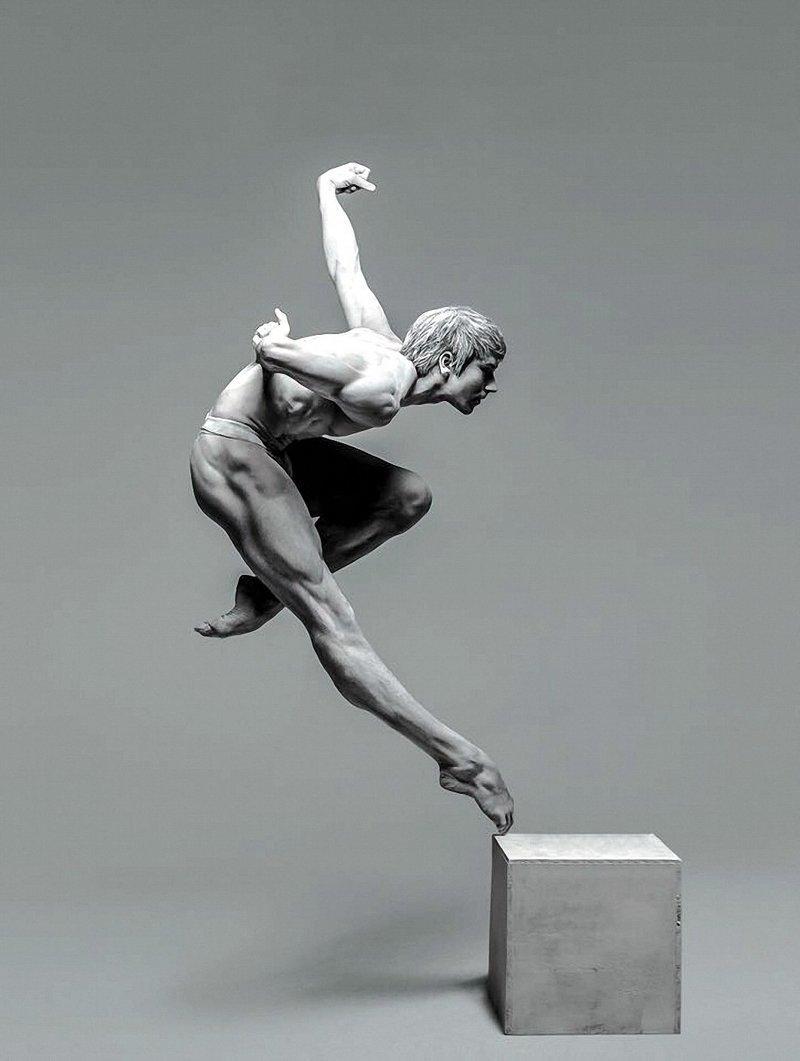 Фридеман Фогель - главный танцор. Штутгартский балет анатомия, балет, искусство, красота, мускулы, невероятное, пластика, фотографии