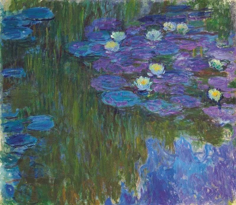 «Кувшинки в цвету», Клод Моне аукцион, искусство, картина, коллекция Рокфеллера, художник