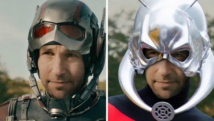 Человек-муравей герой, кино, комикс, мстители, персонаж, сравнение, фильм, фото