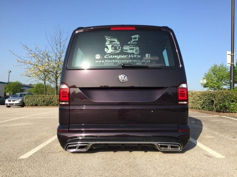 Британцы превратили Volkswagen Transporter в роскошный микроавтобус Volkswagen Transporter, transporter, volkswagen, авто, автотюнинг, кемпер, тюнинг, фургон