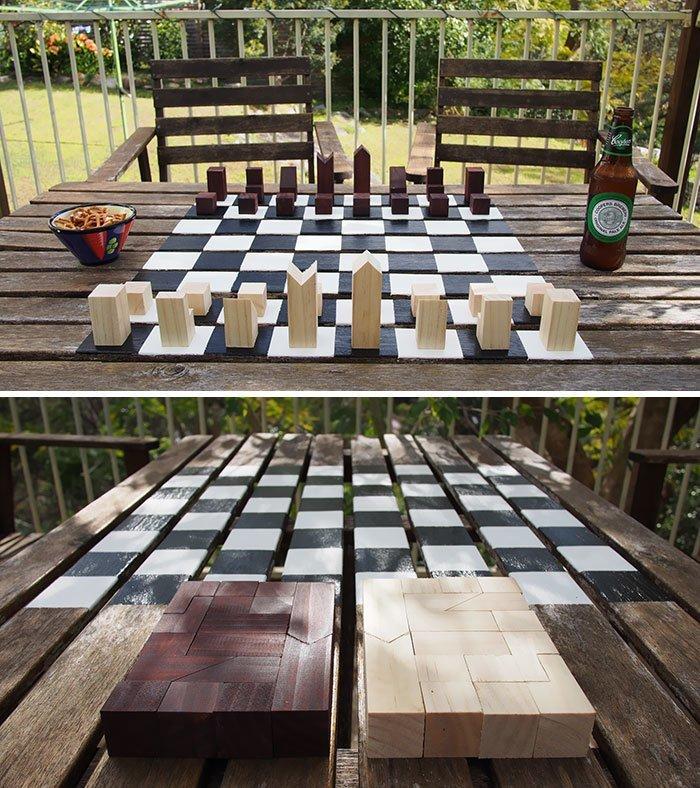 13. Шахматы в стиле минимализм  Стиль, вещь, дизайн, минимализм, подборка, простота, фото
