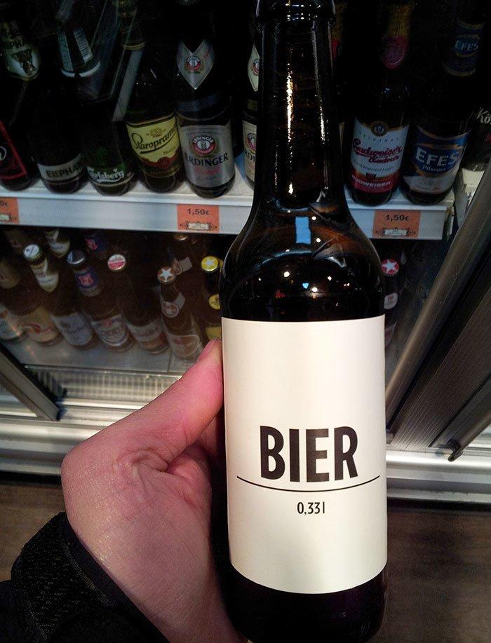 25. Пиво в Берлине  Стиль, вещь, дизайн, минимализм, подборка, простота, фото