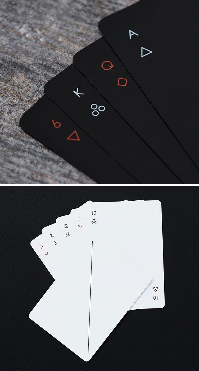 16. Колода карт  Стиль, вещь, дизайн, минимализм, подборка, простота, фото