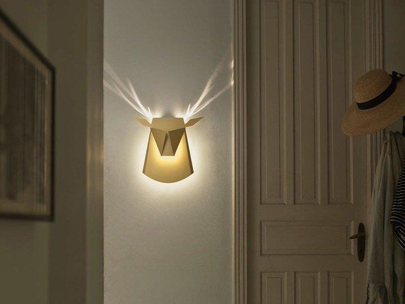 """15. Лампа """"Олень"""" Стиль, вещь, дизайн, минимализм, подборка, простота, фото"""