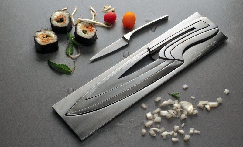 9. Набор ножей  Стиль, вещь, дизайн, минимализм, подборка, простота, фото