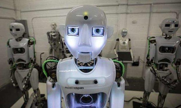 Кроме того, в режиме телеприсутствия роботом можно управлять из любой точки земного шара великобритания, лаборатория, мир, наука, робот, технологии, фото