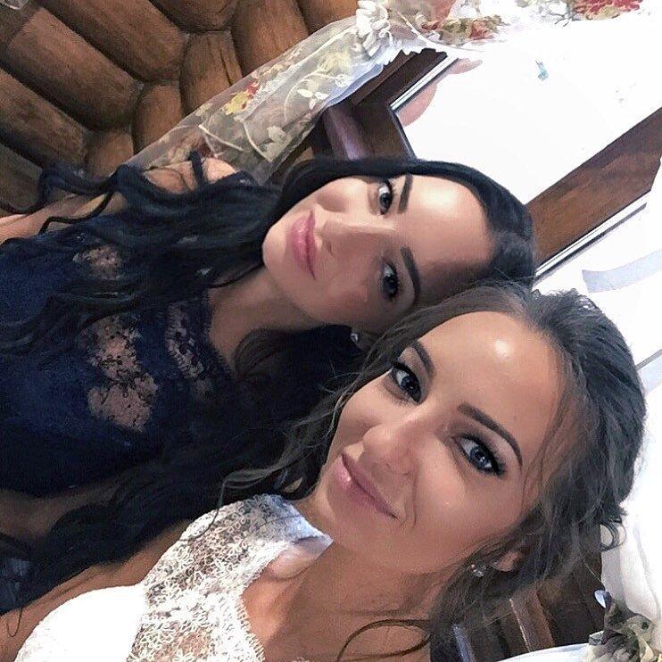 12. Юлия и Ксения близняшки, девушки, красиво, фото