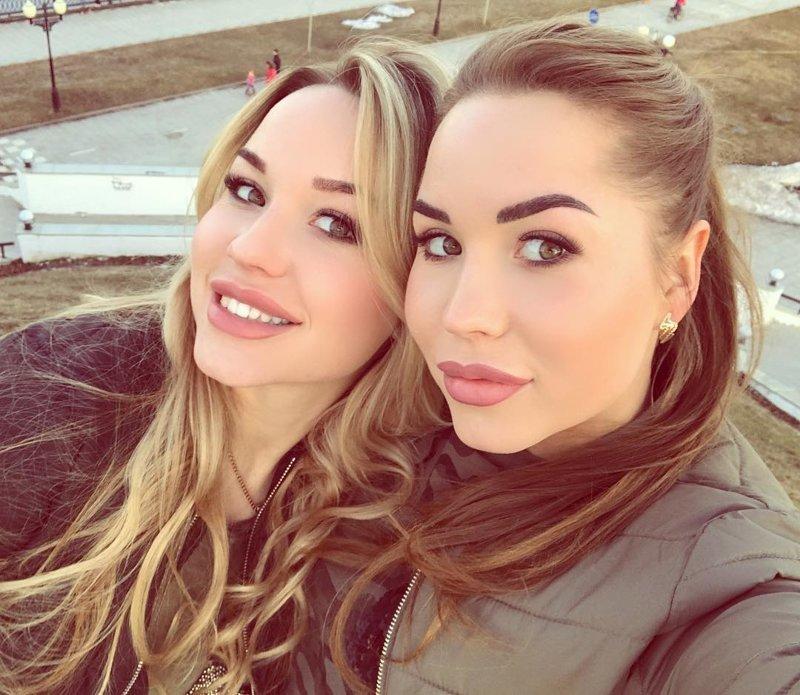 10. Юлия и Анна из Ярославля близняшки, девушки, красиво, фото