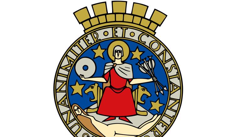 2. геральдика, гербы, лосось, павлин, русалка, святые, символы