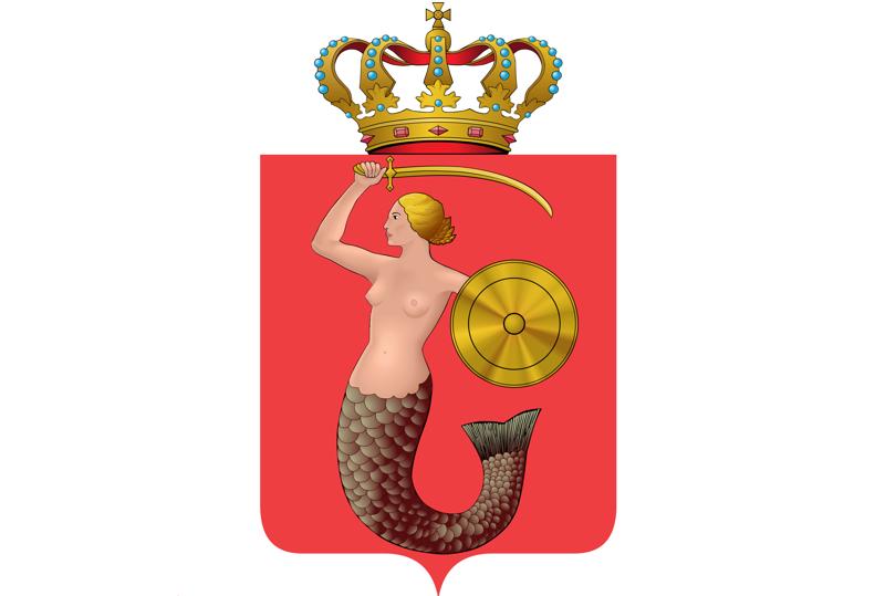1. геральдика, гербы, лосось, павлин, русалка, святые, символы