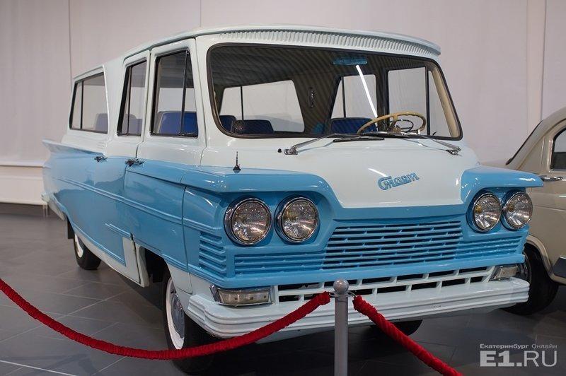 В Верхней Пышме открылся один из крупнейших в мире автомузеев Музей автомобильной техники, верхняя пышма, угмк