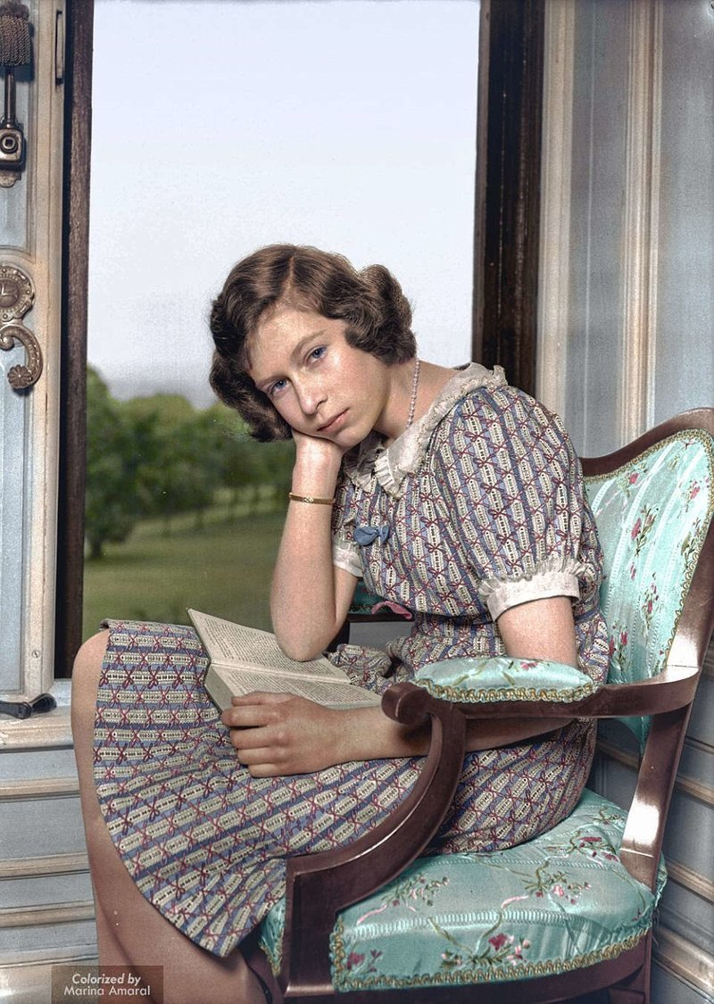 14-летняя Елизавета II, будушая королева Великобритании история, люди, события 20 века