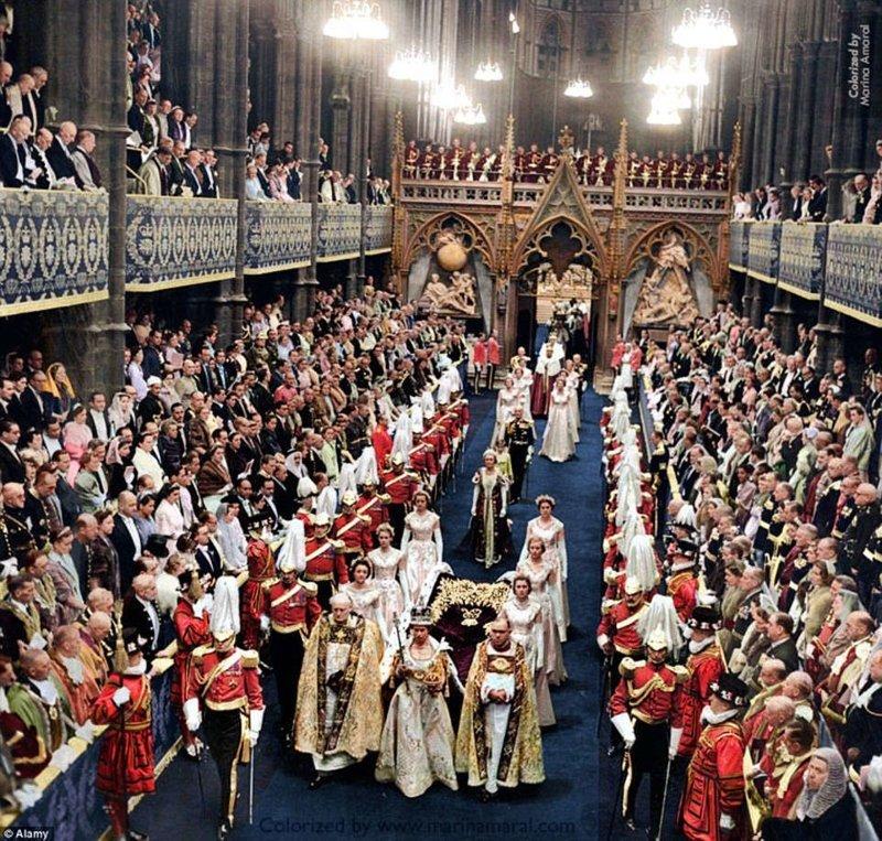 Коронация королевы Великобритании Елизаветы II, 2 июня 1953 года. история, люди, события 20 века