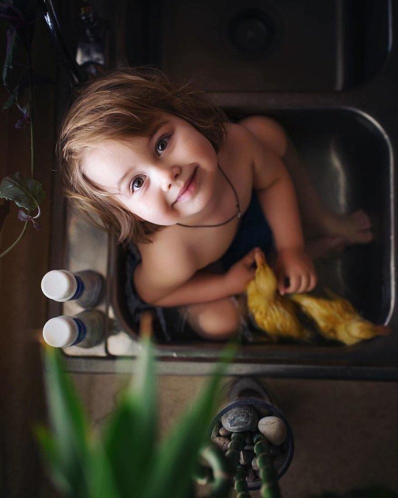 Фотографы со всего мира делают великолепные фото детей и животных в мире, дети, животные, красота, милота, фотограф