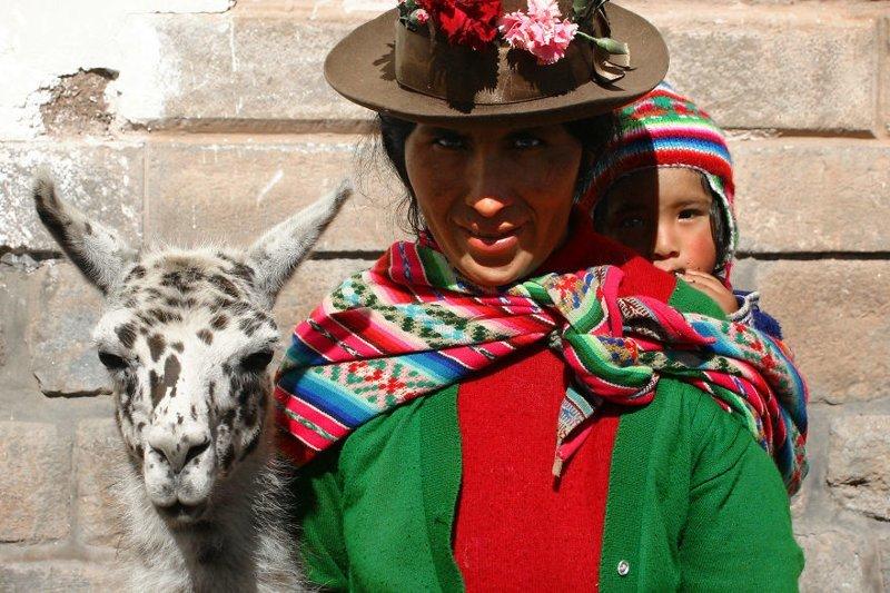 Куско, Перу, 2005 мамы, материнская любовь, мать и дитя, путешествия, трогательно, фото, фотомир, фотоочерки