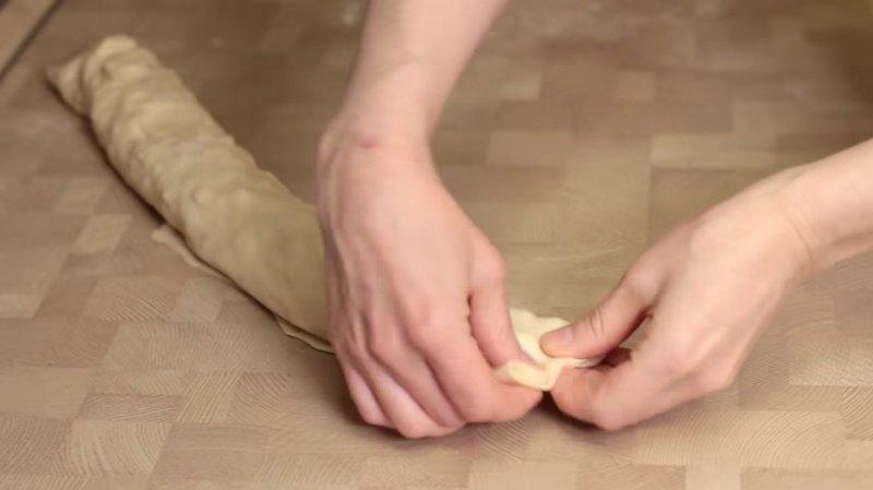 СФОРМИРОВАТЬ РУЛЕТ IrinaCooking, видео рецепт, еда, кулинария, пирог своими руками, рецепт, ханум