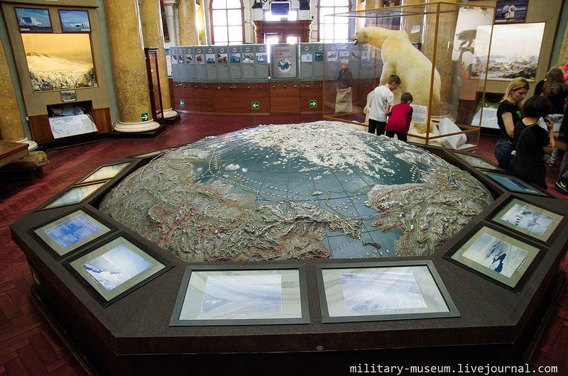 Музей Арктики и Антарктики в С.-Петербурге музей, факты, фото