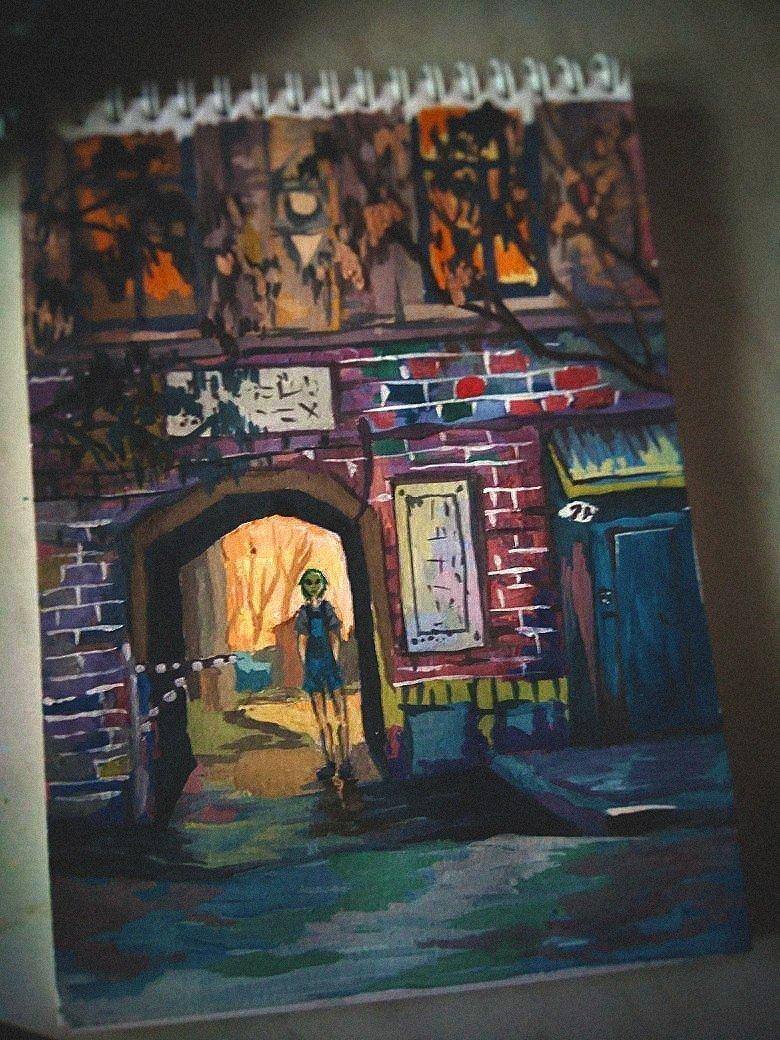 Городские зарисовки, которые вы ещё не видели город, изобразительное искусство, искусство, картина, рисунок, художник, эстетика