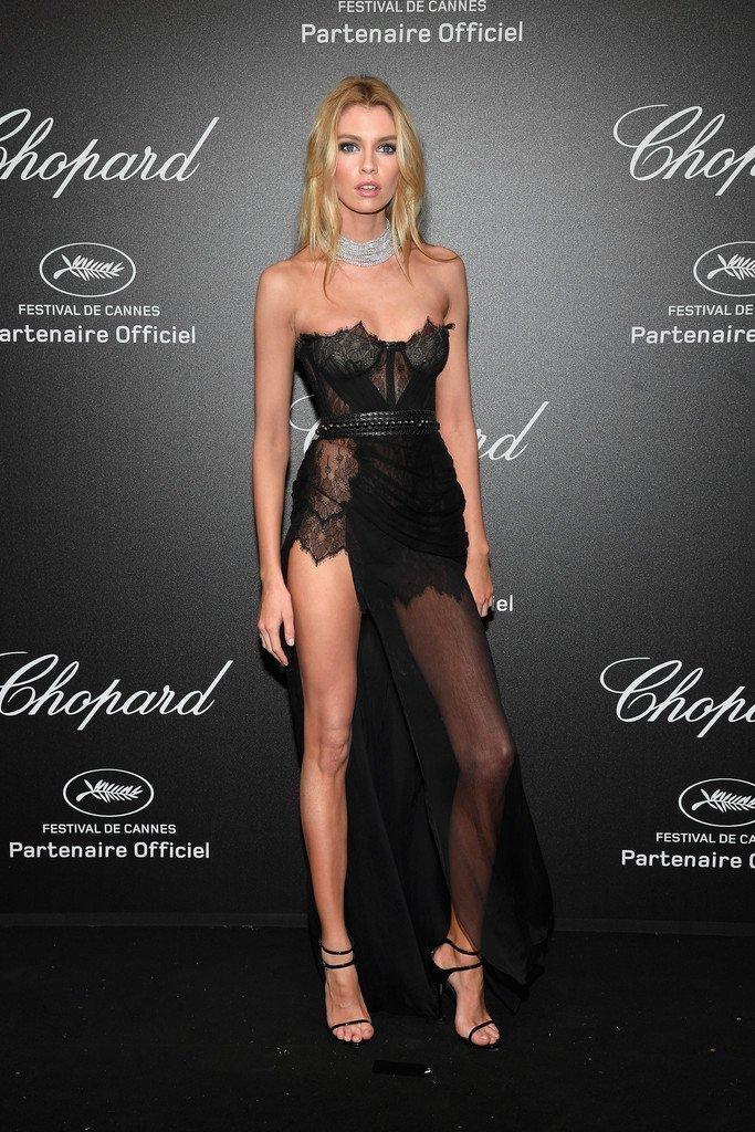 4. Стелла Максвелл на вечеринку фестиваля пришла как настоящая модель Виктория Сикрет - почти голышом канны, канны 2018, кинофестиваль, красная дорожка, образы звезд, фото