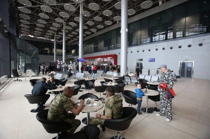 3. Открыт новый терминал аэропорта Саранска после реконструкции вокзальные комплексы, саранск, чм-2018