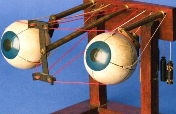 Офтальмотроп изобретение, история, предметы