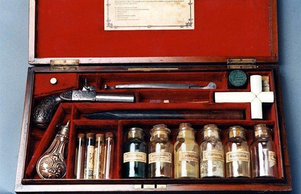 Набор охотника за вампирами изобретение, история, предметы