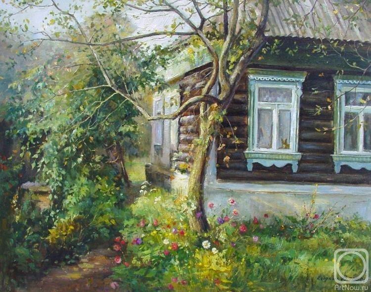 Художник Владимир Егоркин деревня, искусство, картины, красота, современные художники, талант