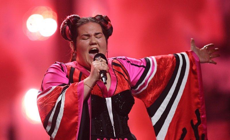 """Подстава: победительницу """"Евровидения"""" назвали """"коровой"""" NettaBarzilai, eurovision, ynews, Нетта"""