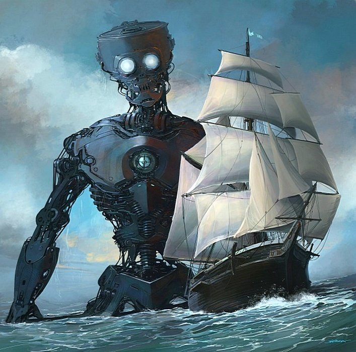 Капитан Немо. Альтернативные Миры, творчество, художники