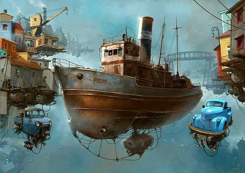 Порт. Альтернативные Миры, творчество, художники