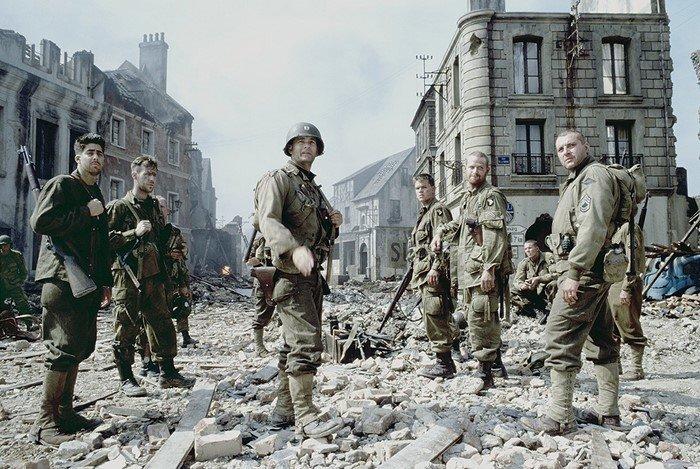 «Спасти рядового Райана» в мире, кино, костюм, люди, ляп, одежда, фильм