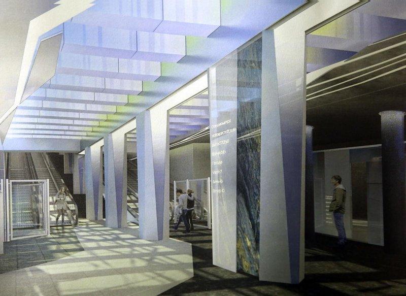 13 мая в Санкт-Петербурге открылась станция метро и второй пешеходный мост на Крестовском острове «Новокрестовская», Крестовском острове, метро, мост, санкт-петербург