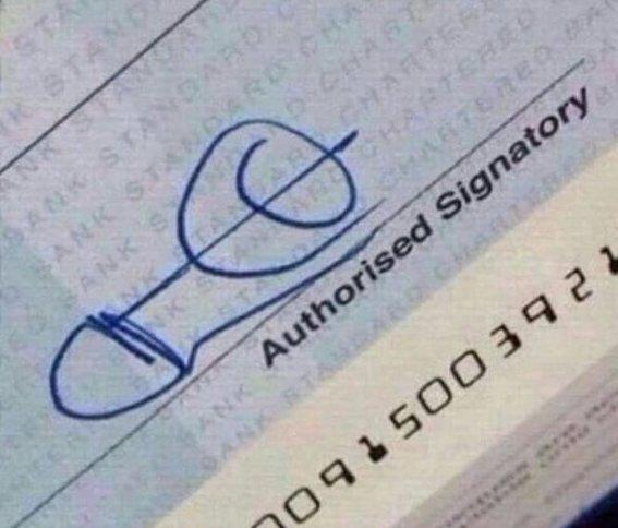 20 по-настоящему креативных подписей Подпись, автографы, креативные подписи, подписи, прикол, талант