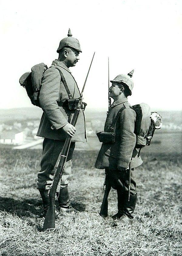 Август Сандер - прусские солдаты, около 1914 года Весь Мир в объективе, история, фотография