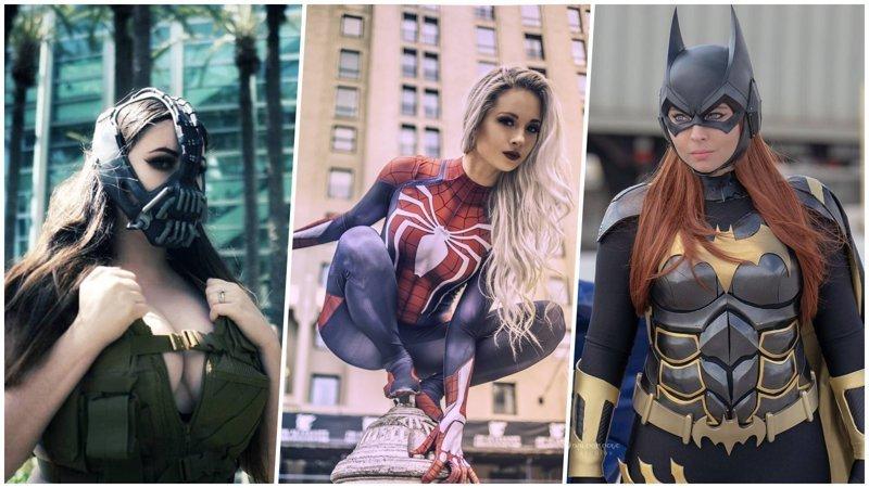 Как выглядели бы герои популярных фильмов, если бы их играли женщины девушки, кино, комиксы, косплей